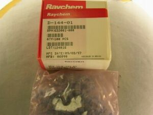 100 Raychem D 144 01 Shield Terminator Solder Sleeves