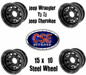 Fits Jeep Wrangler Yj Tj 95 06 Wheels Tires Wheel 391550002x4