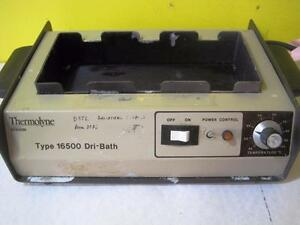 Thermoline Db16525 Type 16500 Dri bath Incubator Heat Block Used Lab Equiptment