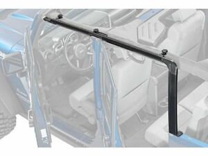 Rampage Door Surround Kit Black Fits 07 17 Jeep Wrangler Jku 4 Door 61098