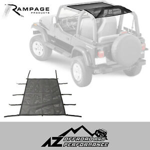 Rampage Combo Brief Topper Mesh Fits 1992 1995 Jeep Wrangler Yj 94101r