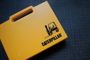 Caterpillar Forklift Tool Cat Kit Box Wrench Socket Oem Ratchet Set Repair Shop