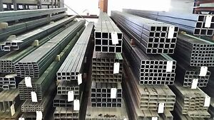 1 1 2 X 1 1 2 X 083 Wall Square Tubing Steel 4 Pieces 6 Lengths