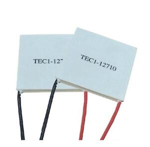 10pcs Tec1 12710 Heatsink Thermoelectric Cooler Cooling Peltier Plate Module New