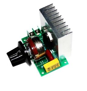 Speed Controller Ac 3800w Scr Electric Voltage Regulator Dimming Switch