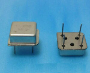 5pcs 100mhz 100 000mhz Active Crystal Oscillator Osc Square Dip4 New