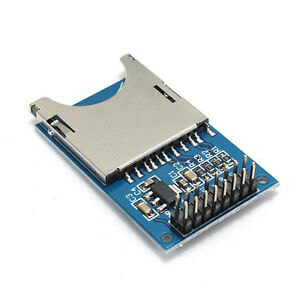 5pcs Sd Card Module Slot Socket Reader For Arduino Arm Mcu Read And Write