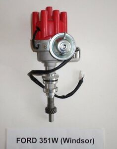 Small Block Ford 351w Windsor Red Female Small Cap Hei Distributor Electronic