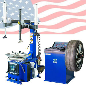 New 988 Tire Changer Wheel Changers Machine 680 Combo Balancer Rim Clamp