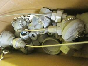 Large Lot Of Tudor Technologies Thermocouple Temperature Probe Sensor Equipment