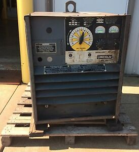Lincoln Electric Idealarc Dc 400 Stick Welder
