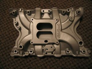 Edelbrock Performer 400 Egr Carb Intake Ford F150 F250 F350 Mustang Cougar Tbird