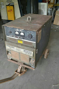 Lincoln Electric Idealarc R3s 600 Arc Welder R3s600 With Cart