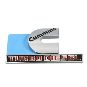 Dodge Ram Cummins Turbo Diesel Decal Emblem Nameplate Badge Oem Mopar Genuine