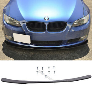 Fit 2005 2013 Bmw E90 E92 Front Bumper Lip Under Spoiler Splitter Pu