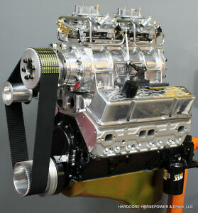 383ci Small Block Chevy Pro Street Engine Blown 550hp Built To Order Dyno Tuned