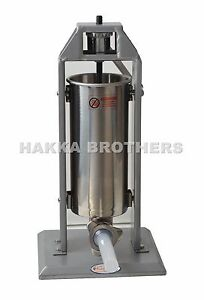 New Hakka 11lb Sausage Stuffer Stainless Steel Meat Fillers St v5