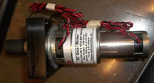 Sigma Dc Gear Motor Gmt9233 24v 38 1 htg bb tach k01 150rpm 130 Oz in dr1e2