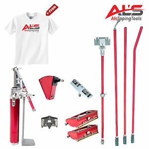 Level5 Finishing Set Of Drywall Taping Tools W 3 5 Angle Head Free T shirt