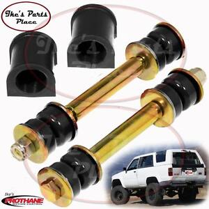 Prothane 18 1103 bl Front 19mm Sway Bar Bushings End Link Kit 84 88 Toy 4runner