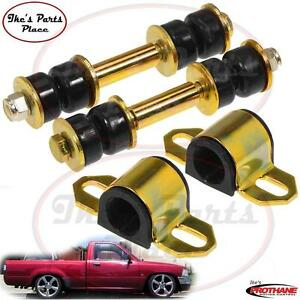 Prothane 18 1107 bl Front 23mm Sway Bar Bushings end Link Kit Toyota 2wd Pickup