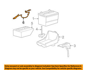 Ford Oem battery Cable 4f1z14300aa