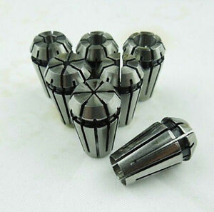 10pc Er8 Precision Spring Collet 1 1 5 2 2 5 3 3 175 3 5 4 4 5 5mm Cnc Engraving