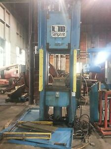 90 Ton Tangent Straight Side Press
