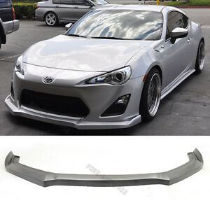 For 13 16 Scion Frs Fr s Gt86 Ds Style Front Bumper Lip Spoiler Pu Poly Urethane