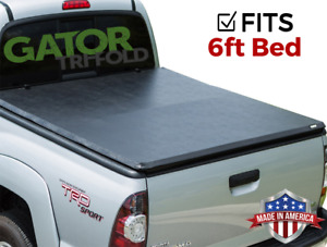 Gator Etx Tri fold fits 2005 2019 Nissan Frontier 6 Ft Tonneau Bed Cover No Ts