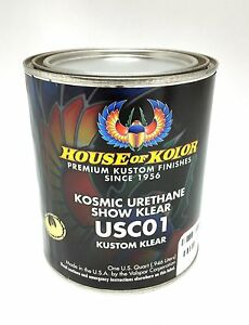 House Of Kolor Usc01 Kosmic Urethane Show Clear Quart