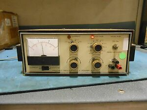 Heathkit Model Ip 27 Regulated L v Power Supply