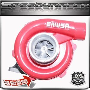 Emusa Red For T3 t4 T04e Turbo A r 63 Accord Civic Crx Si Honda S2000 Elemen