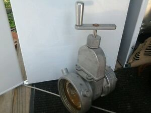 Jaffrey Fire Protection Co 7 Fire Hydrant Truck Gate Valve Mh4 hg