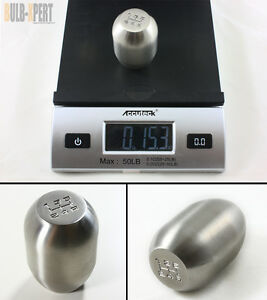 M10 X 1 25 1 Lb Type R Style Heavy Weighted 5 Speed Steel Shift Knob For Mazda