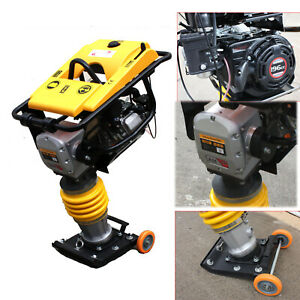 6 5hp 196cc Dirt Jumping Jack Tamping Rammer Tamper Plate Compactor W epa Carb