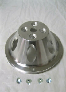 Big Block Chevy Swp Aluminum 1 Single Groove Upper Water Pump Pulley Bbc Bolts