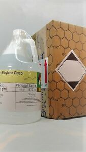 Ethylene Glycol 1 Gallon Hdpe Bottle Msds Included