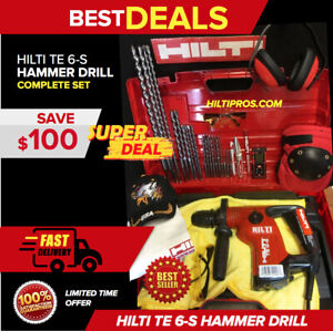 Hilti Te 6 s Drill Free Measuring Laser More great Made In Germany fast Ship