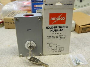 Amseco Husk 10 Hold Up Switch Key Resetable