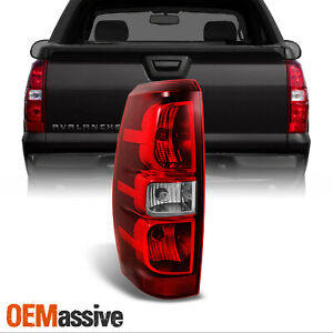 Fit 2007 2013 Chevy Avalanche Driver Left Side Rear Tail Light Brake Replacement