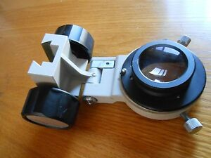 Olympus Imt 2 Inverted Condenser Holder With Lens free Us Shipping