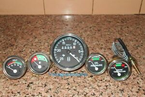 Massey Ferguson Gauge Kit Tachometer Temp Gauge Oil Pressure Volt Fuel