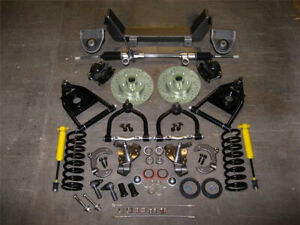 1947 1954 Chevy Pickup Truck Mustang Ii Complete Front End Ifs Kit 2 Drop