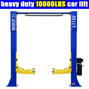 10 000lbs Car Lift L1100 2 Post Lift Car Auto Truck Hoist 220v Free Shipping