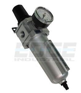 Heavy Duty Filter Regulator Combo For Air Compressed Compressor Pneumatic 1 2