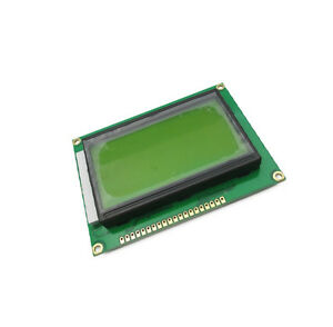 10 Pcs New St7920 5v 12864 128x64 Dots Graphic Lcd Yellow Green Backlight