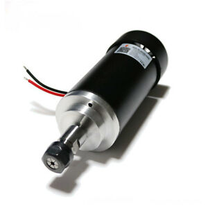Air cooled Er11 Spindle Motor 400w Brushed Dc24 52v 12000rpm High Speed Router