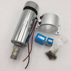 Er16 Dc 400w Spindle Motor 12 48v 12000rpm With Mount Bracket Collet For Router
