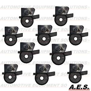Tire Changer Mount Demount Head Inserts For Accuturn Metal Duckheads 10pc